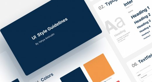 Figma free styleguide template