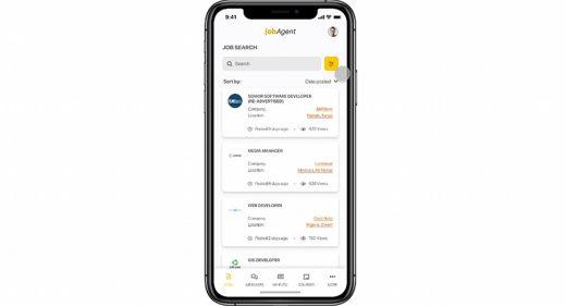 Job search Figma app template