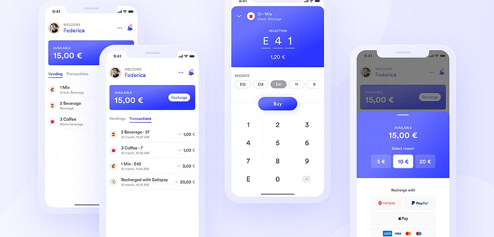Vending machine Free Figma UI kit