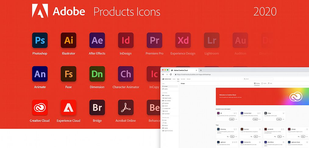 Adobe tools icons for Figma