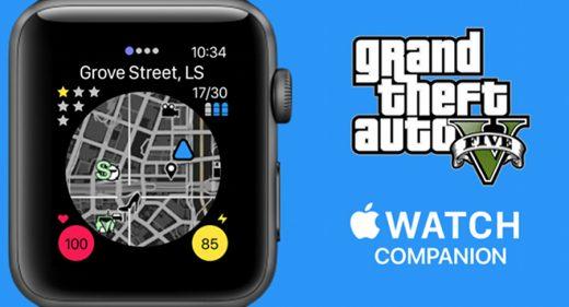 Apple Watch GTA Figma app concept