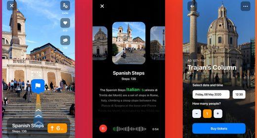 Audio guide Figma app template