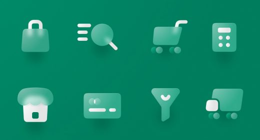 Free ecommerce Figma icons