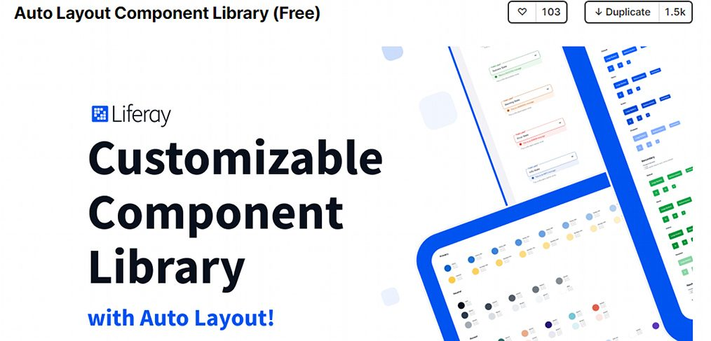 Auto Layout Figma Component Library