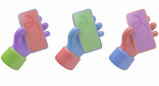 Free 3D Figma iPhone mockup
