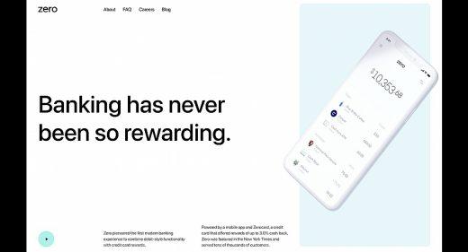 Banking Figma homepage template
