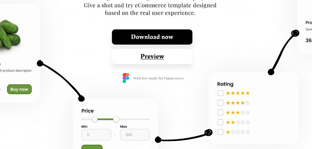 eCommerce Figma template kit