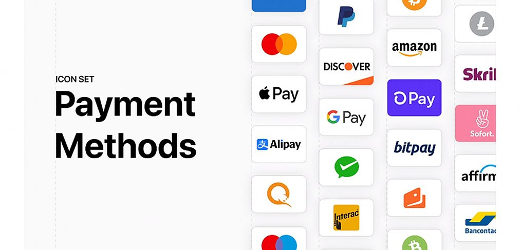 Figma payment methods icon set