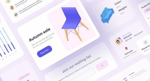 Figma UI E-commerce Components