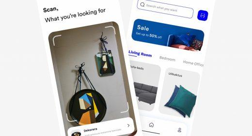 Ikea ecommerce Figma template