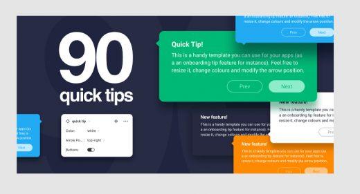 90 Free Figma Tooltips templates