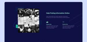 Tech company Figma website template